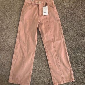 NWT Forever 21 High Waisted Cropped Straight Jeans